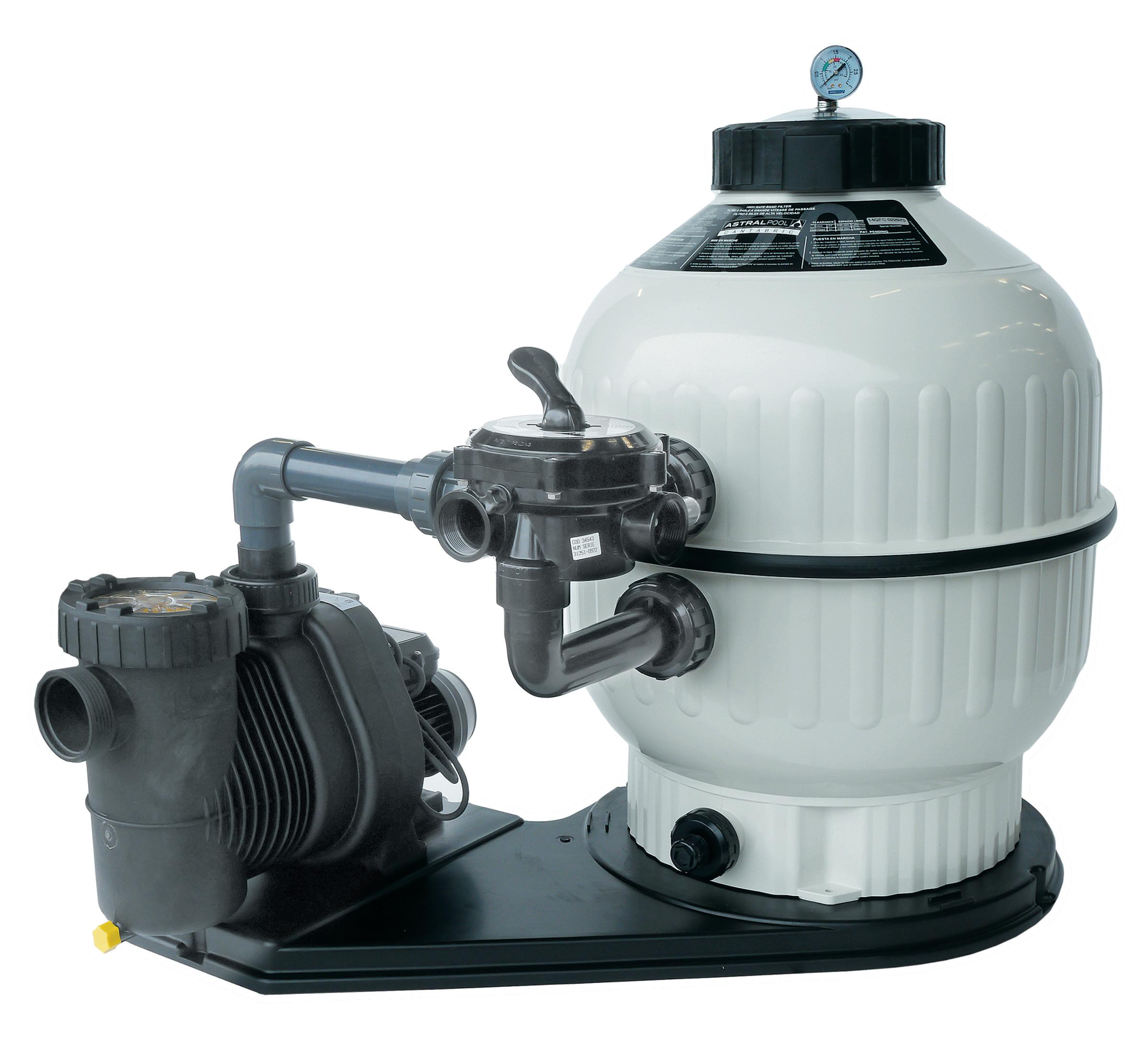 Aktion Filteranlage Cantabric mit Speck Pumpe Ø500 Speck Super Pump Premium 12 230 V 50 m³