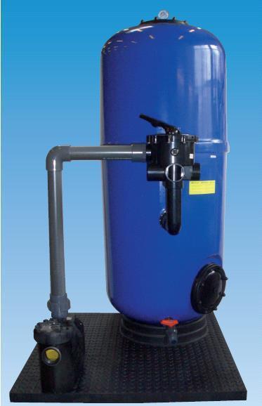 Meranus Hochschicht Filteranlage Luxus S Prime Ø650 mm mit Speck Pumpe Prime 15 230 V