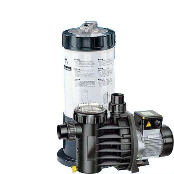 Astral Kartuschenfilteranlage 4,6 m² mit Speck Pumpe Magic 8 230 Volt