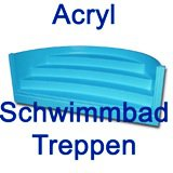 Acryl Schwimmbad Treppe