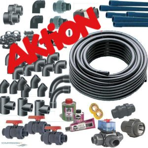 Aktion PVC Fittinge 50 und 63 mm