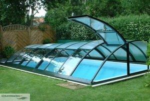 Pool Überdachung - Schwimmbadbau, Pool, Sauna, Dampfbad ...
