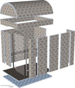modul dampfbad kabine schwimmbadbau pool sauna dampfbad schwimmbadbau24. Black Bedroom Furniture Sets. Home Design Ideas