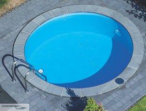Schwimmbad becken schwimmbadbau pool sauna dampfbad for Rundbecken pool