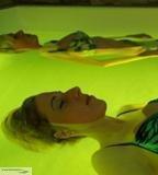 Solebecken Schwebebecken