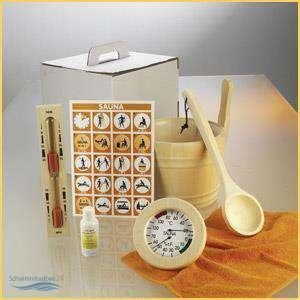 sauna zubeh r set 6 teilig modell standard top im tragekarton 84 80. Black Bedroom Furniture Sets. Home Design Ideas