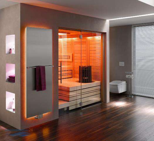 helo saunakabine cupreme massivholz in verschiedenen. Black Bedroom Furniture Sets. Home Design Ideas