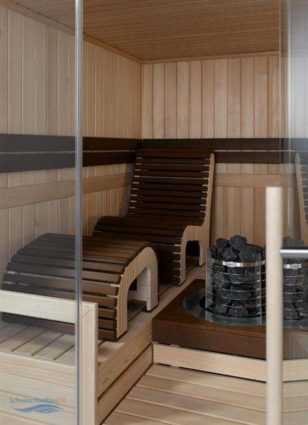 helo saunakabine mocca massivholz in verschiedenen. Black Bedroom Furniture Sets. Home Design Ideas