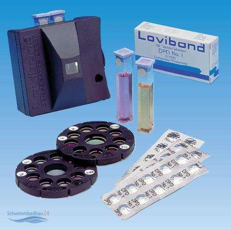lovibond comparator 2000 af 114 zur messung von chlorgehalt und ph wert 529 00. Black Bedroom Furniture Sets. Home Design Ideas