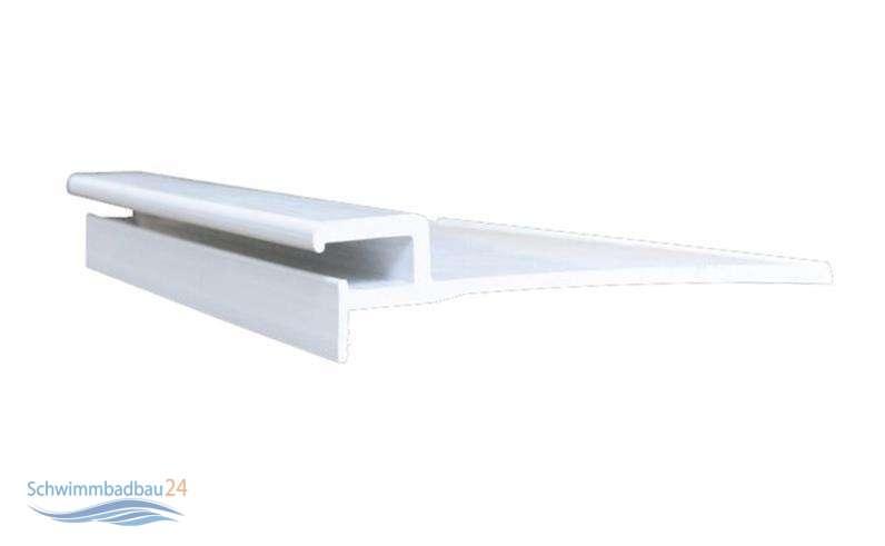Einh ngeprofil gerade l nge 200 cm 24 50 for Hersteller poolfolien
