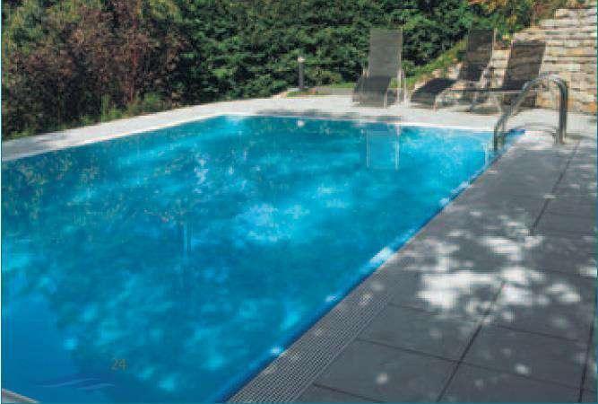 mth sunstar pool mit berlaufrinne sunny pool inkl rinnenrost standard ohne folie. Black Bedroom Furniture Sets. Home Design Ideas