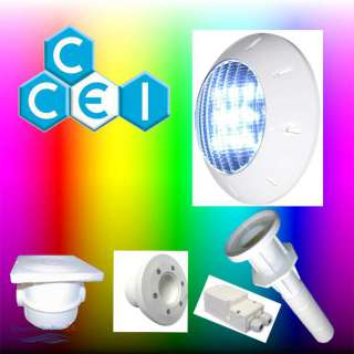 Beleuchtungsset CCEI LED 1 Scheinwerfer KIT 1 RGB 1000 lm...