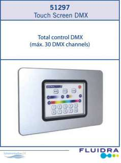 DMX Touch Screen AstralPool als Alternative zum PC oder...