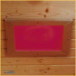 eliga sauna led farbleuchte einbaumodell mit drucktaster 583 10. Black Bedroom Furniture Sets. Home Design Ideas