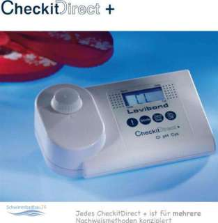 Lovibond Photometer CheckitDirect + 4 in 1