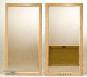 sauna glaselemente. Black Bedroom Furniture Sets. Home Design Ideas