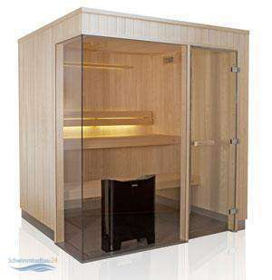 Tylö Sauna Evolve Plus GF Fichte 1940x1940x2100 mm 8 kW E1919 Plus GF F