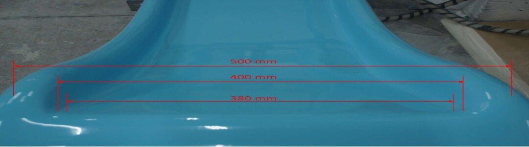 rutsche 1 80 m h he farbe hellblau schwimmbadbau pool sauna schwimmbadbau24. Black Bedroom Furniture Sets. Home Design Ideas