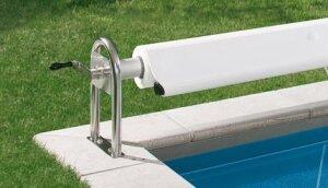 Bieri isola isolierabdeckung schwimmbadbau pool sauna for Schwimmfolie pool