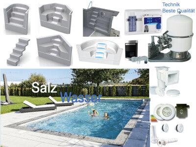 aktion schwimmb der komplett set schwimmbadbau pool. Black Bedroom Furniture Sets. Home Design Ideas