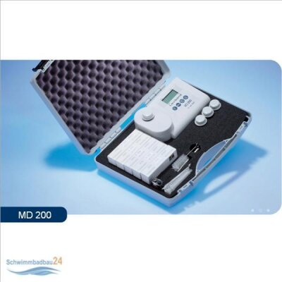 Lovibond Photometer MD 200 - 4 in 1 für Chlor pH-Wert...