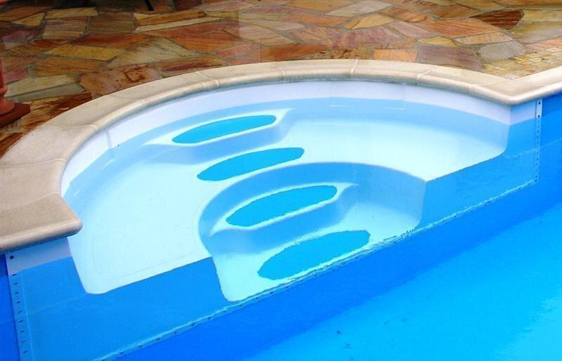 bayrol bali rechteckbecken megaset salzwasser schwimmbad. Black Bedroom Furniture Sets. Home Design Ideas
