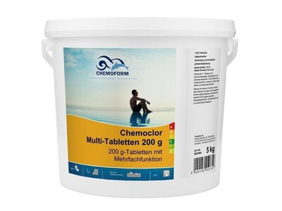 Chemoform Chemoclor Multi-Tabletten 200g 5 kg Multitabs