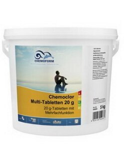 Chemoform Chemoclor Multi-Tabletten 20g 5 kg Multitabs