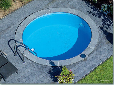 Meranus Aktion Rundbecken-Set COMO Höhe 1,20 m SUNSET POOL Superpaket