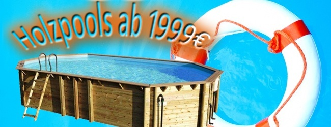 Holzschwimmbecken